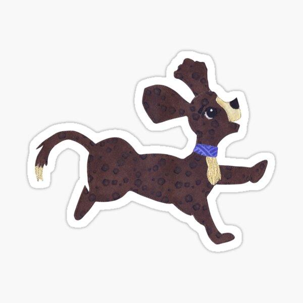 Playful Puppy Sticker