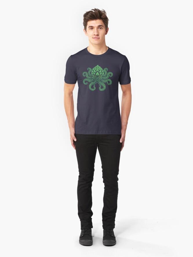 Alternate view of Hoptopus Slim Fit T-Shirt