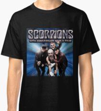Scorpions 50TH Anniversary World Tour Classic T-Shirt