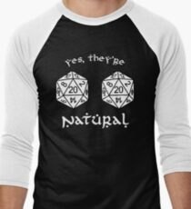 D20 - Dungeon and Dragons Men's Baseball ¾ T-Shirt