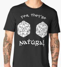 D20 - Dungeon and Dragons Men's Premium T-Shirt