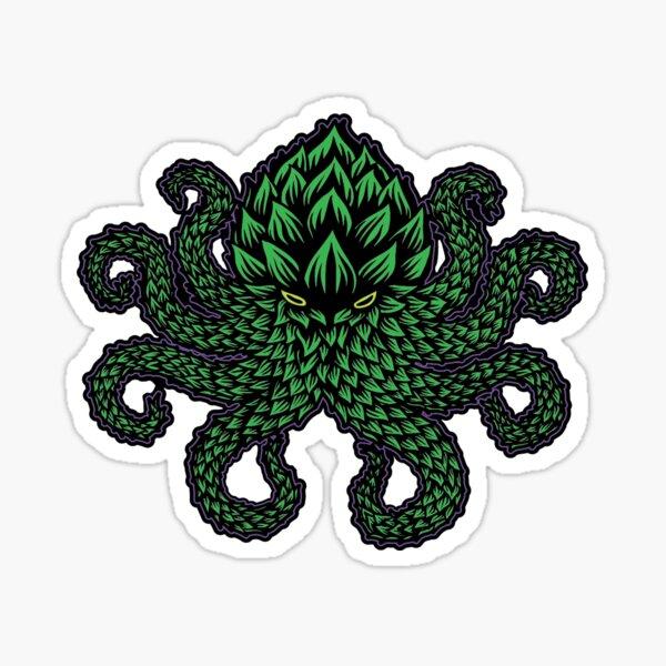 Hoptopus Sticker