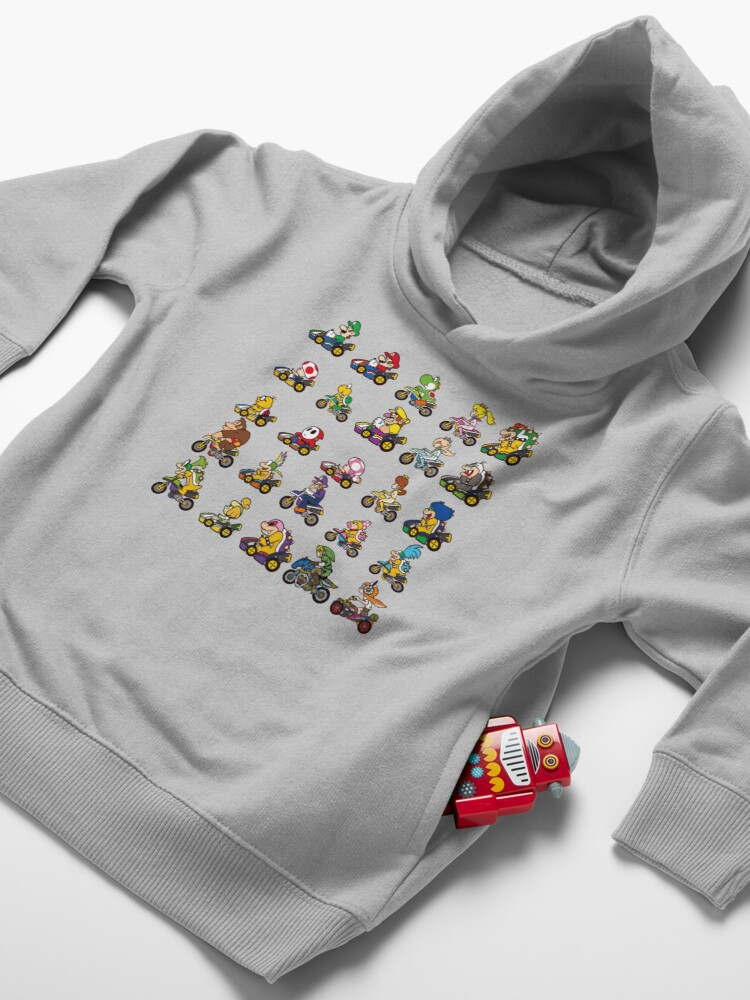 Alternate view of Luxurious Race Toddler Pullover Hoodie
