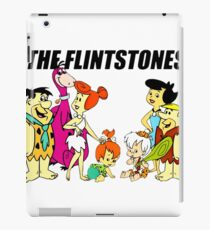 The Flintstones, retro vintage Cartoon, iPad Case/Skin
