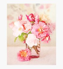 Pink Spring Bouquet Photographic Print