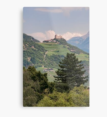 Castle Rafenstein, Bolzano, Italy Metal Print