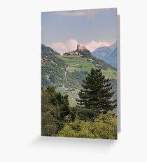 Castle Rafenstein, Bolzano, Italy Greeting Card