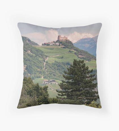 Castle Rafenstein, Bolzano, Italy Throw Pillow