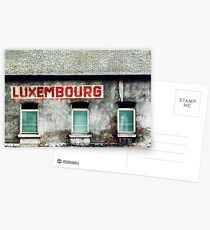 Luxembourg Postcards