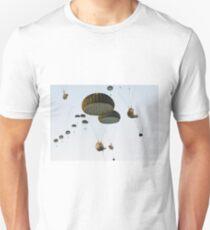 Parachuting Beavers Unisex T-Shirt