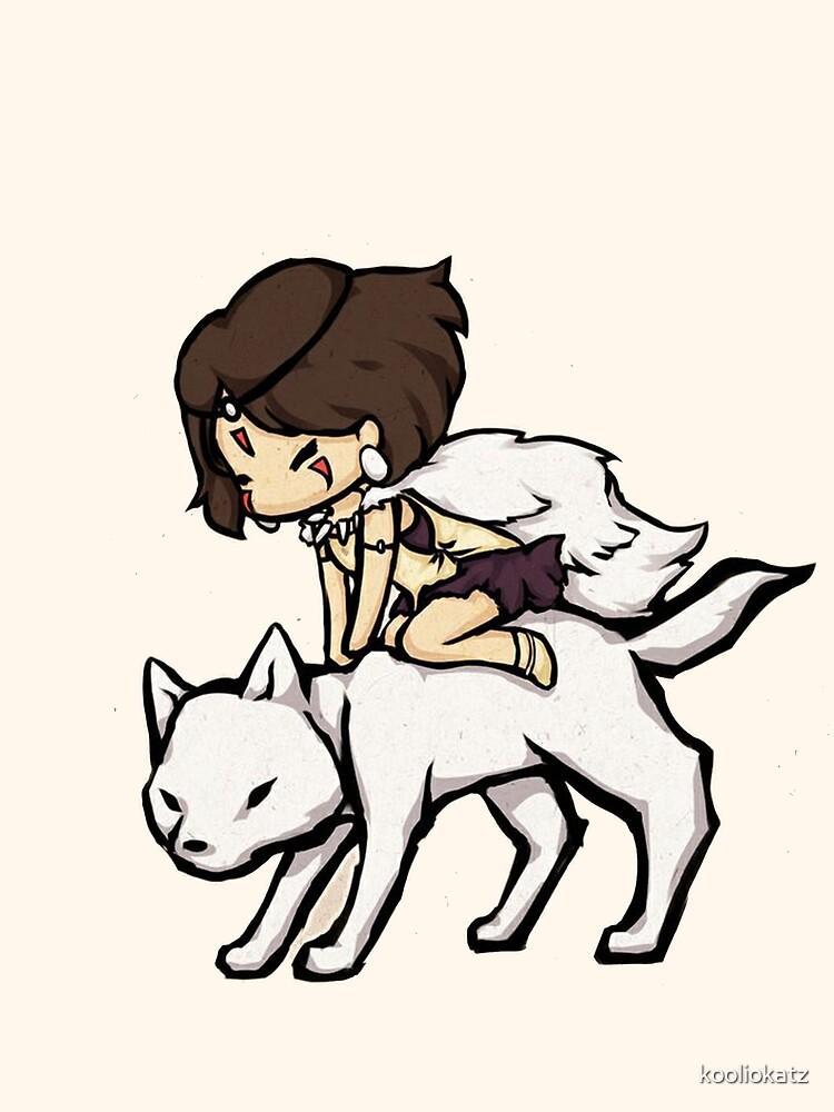Princess Mononoke by kooliokatz