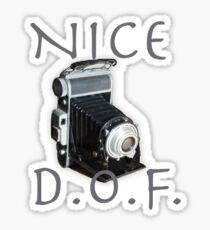Nice DOF Sticker