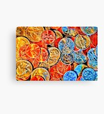 Charged Currency Canvas Print