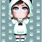 DeviCat Chibi - Cat Hoodie - 2017 by devicatoutlet