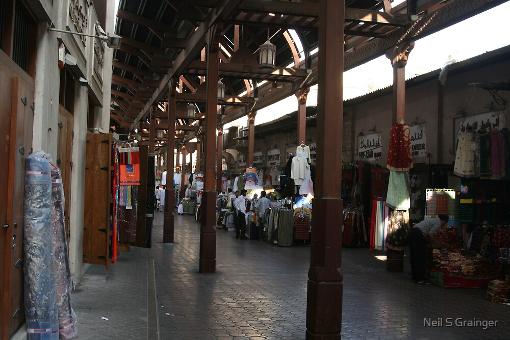 Market Place in Dubai by Neil Grainger