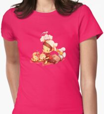 Fluffiest Generation Womens Fitted T-Shirt