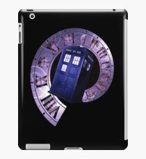 Dr. Who Clock Faces iPad Case/Skin