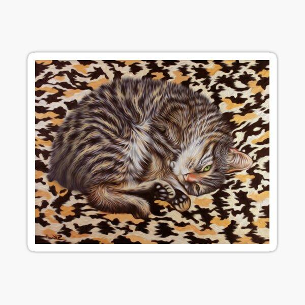 Gigi Camo - My Pet Cat Sticker