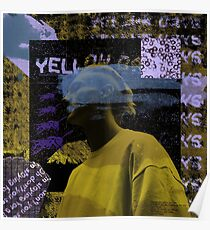 yellow days collage Poster