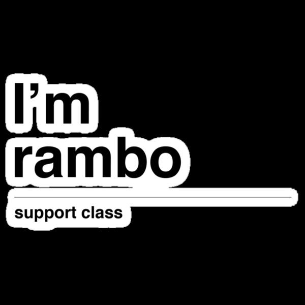 I'm rambo by tombst0ne
