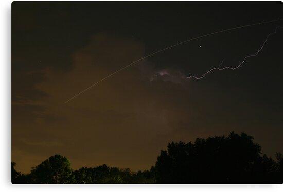Cloud-To-Air Lightning by MMerritt