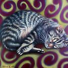 Gigi Swirl - My Pet Cat by Simon Mark Knott * Simbird *