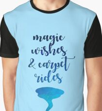 Magic wishes and carpet rides Graphic T-Shirt