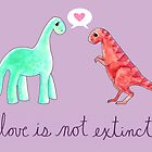 Love Is Not Extinct by Jacquelyne Drainville