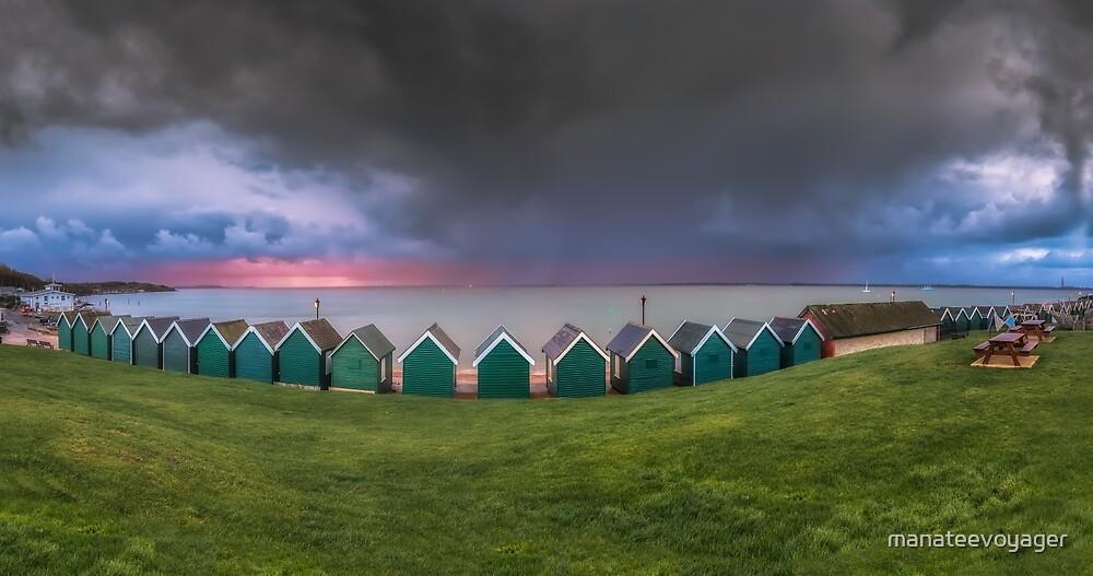 Gurnard Bay Panorama #2 by manateevoyager