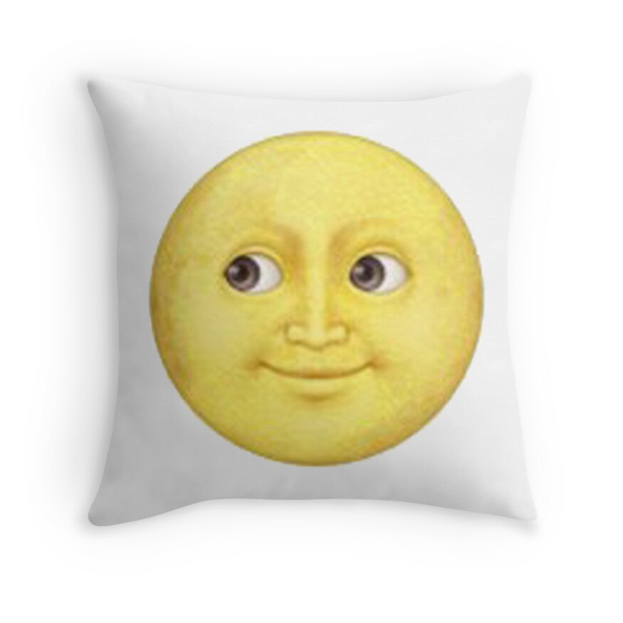 yellow moon emoji - photo #2