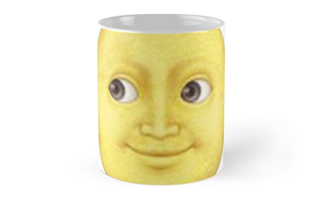 yellow moon emoji - photo #22