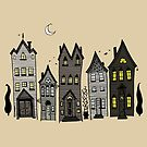 Haunted Houses by Jacquelyne Drainville