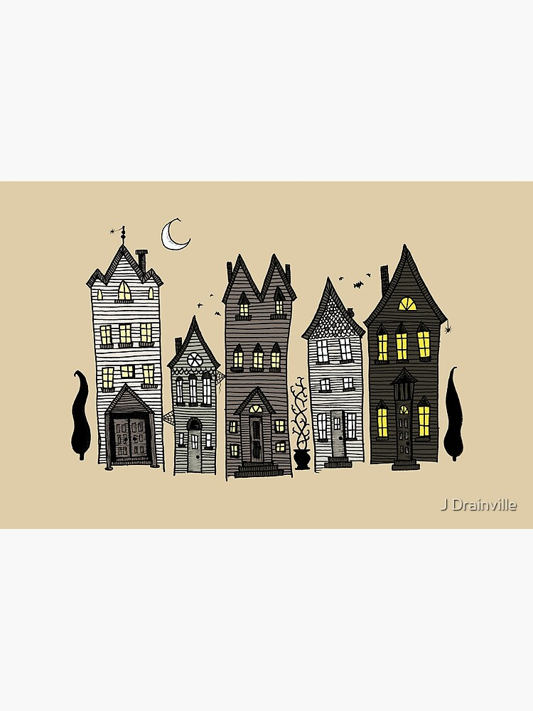 Haunted Houses by omnibob8