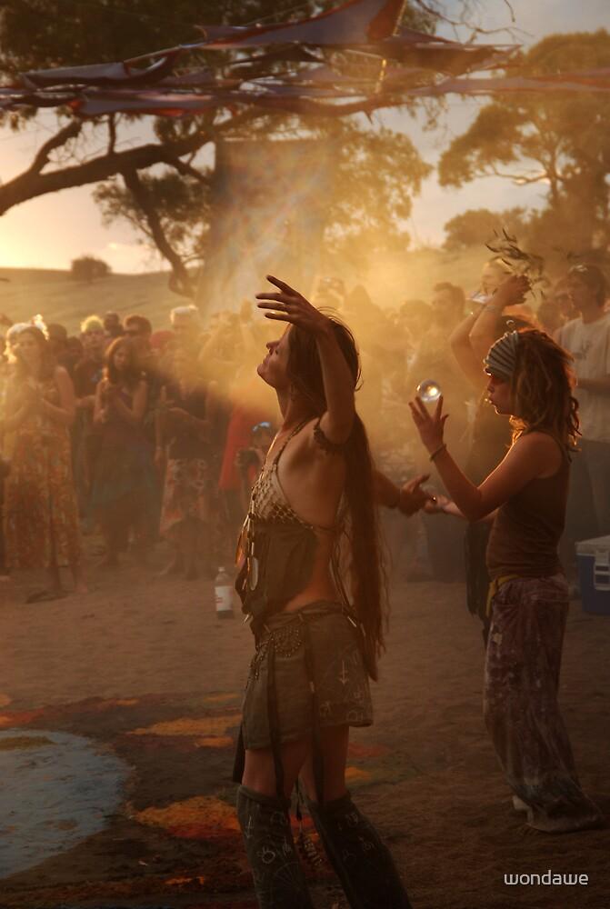 Dust Dusk Dancer by wondawe