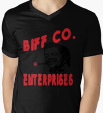 """""""He's a butthead just like his old man was"""" Mens V-Neck T-Shirt"""