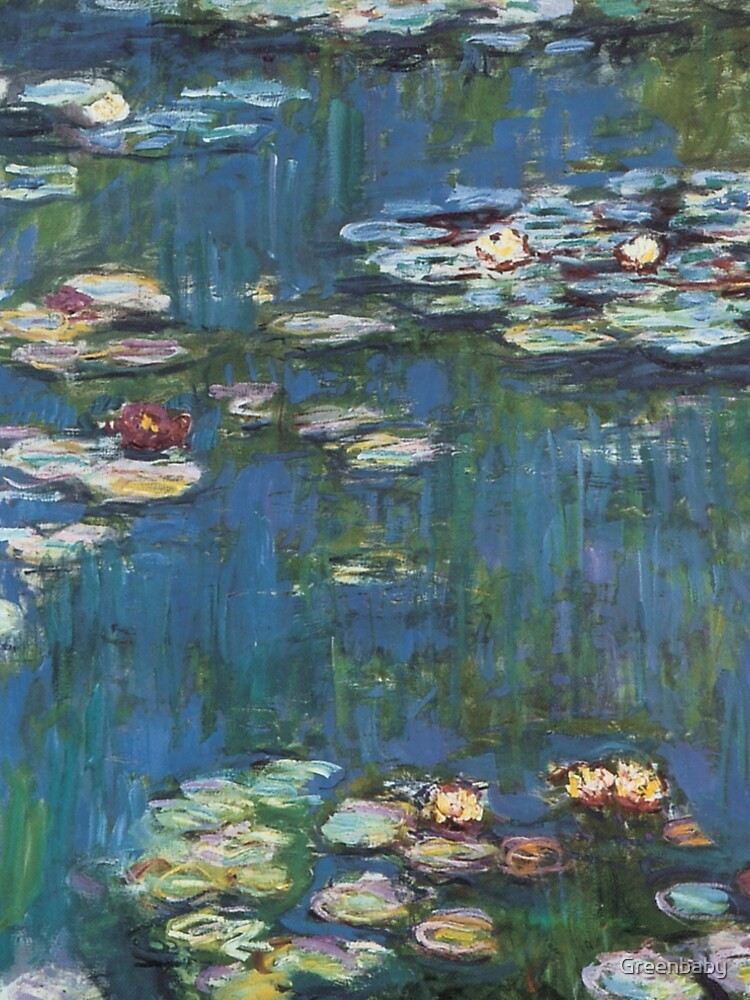 Water Lilies by Monet by Greenbaby