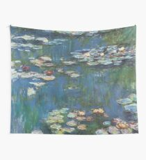 Water Lilies by Monet Wall Tapestry