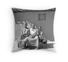 African family Throw Pillow