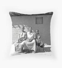 African family Throw Pillow