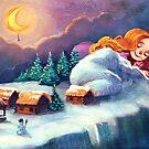 Winter night by vasylissa