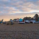 Aldeburgh, Suffolk, England by Mark Baldwyn