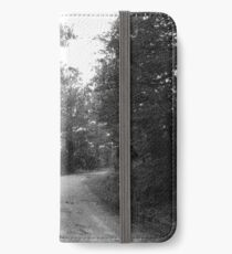 Along a Dark and Lonely Path iPhone Wallet/Case/Skin