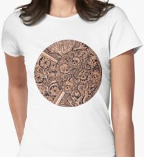 Luna Skulls Women's Fitted T-Shirt