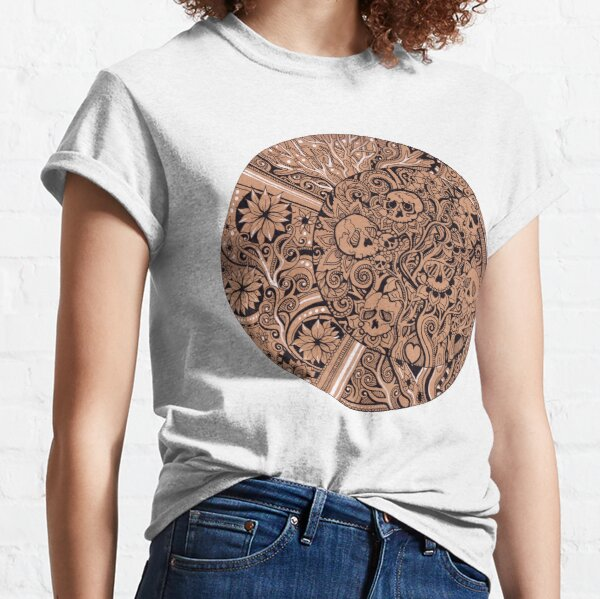 Luna Skulls Classic T-Shirt
