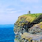 O'Brien's Tower on The Cliffs of Moher by DigitalandPhoto