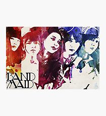 Band Maid (Watercolor) Photographic Print
