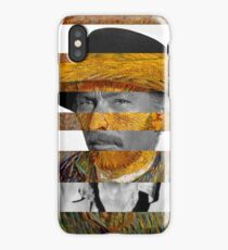 Van Gogh's Self Portrait & Lee Van Cleef iPhone Case/Skin