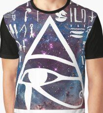 Horus eye Galaxy Graphic T-Shirt