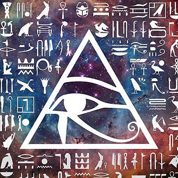 Horus eye Galaxy by dmorissette