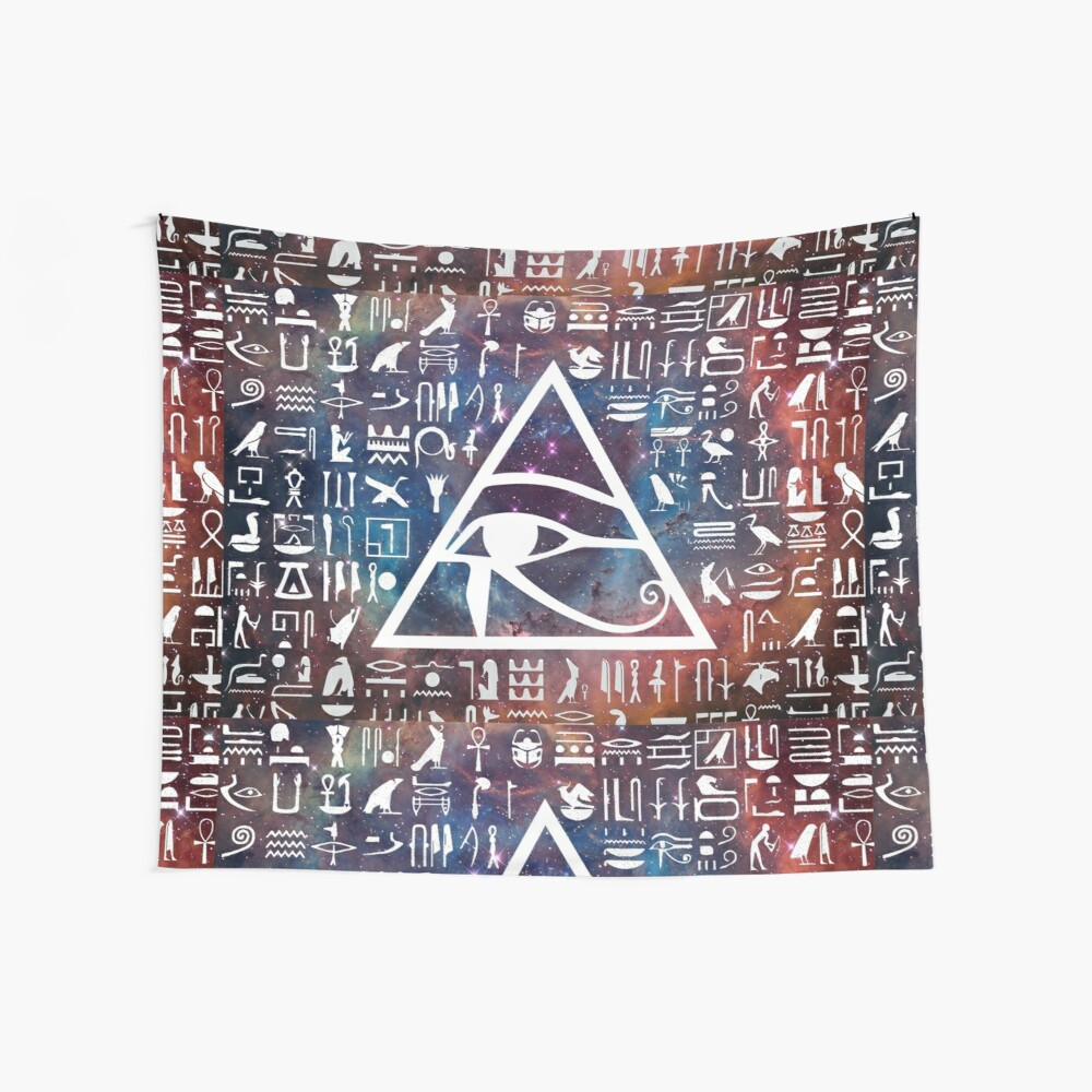 Horus eye Galaxy Tela decorativa